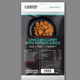 Adventure Nutrition Action Pack, 300g Self Heating Meal  CHICKEN, POTATOES & RICE