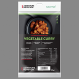Adventure Nutrition Action Pack, 300g Self Heating Meal  VEGETABLE CURRY