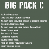 The BIG ration Pack C