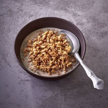 Granola Muesli with Milk from our Military Range