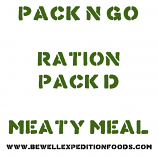 Pack N Go Ration Pack D - Meaty