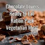 Chocolate Lovers Ready to Eat  24 Hour Ration Pack   VEGETARIAN