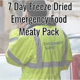 7 Day Freeze Dried Emergency Food Meaty Pack