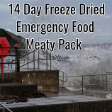 14 Day Freeze Dried Emergency Food Meaty Pack