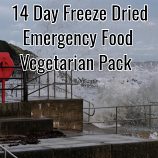 14 Day Freeze Dried Emergency Food Vegetarian Pack