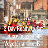 2 Day Ready to Eat Emergency Food Vegetarian Meals 1