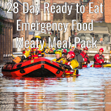 28 Day Ready to Eat  Emergency Food Meaty Pack