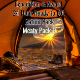 Award & Expedition 24 Hour Ready to Eat pack 2020  Meaty PACK D