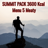 Menu 5 ( Meaty )  - Summit Pack 3600 Kcal